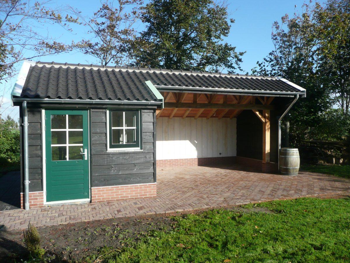 Verwarmd atelier in de tuin