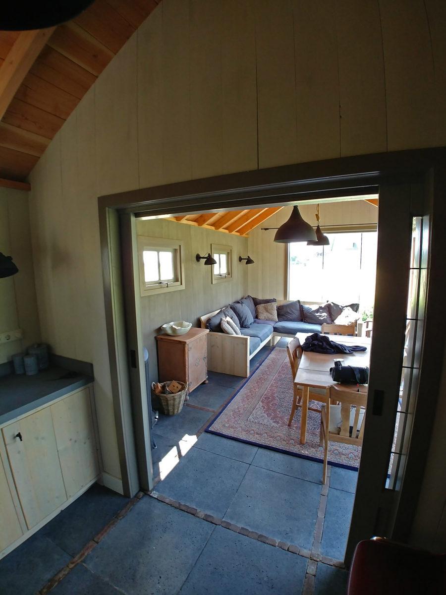 Keukenblok & houtkachel